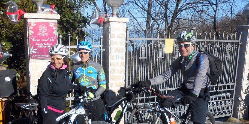 """""""Bike&Wine"""" di Capodanno – F.lli Fuschi (Silvi)"""